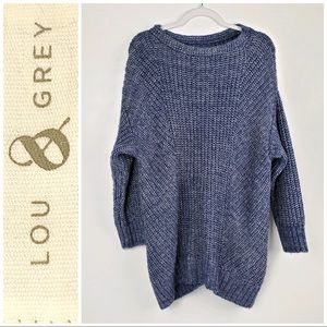 Anthropologie Lou & Grey Knit Oversized Sweater